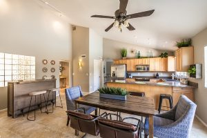 Paradise Cove of Scottsdale Vacation Home Rental Dining Room